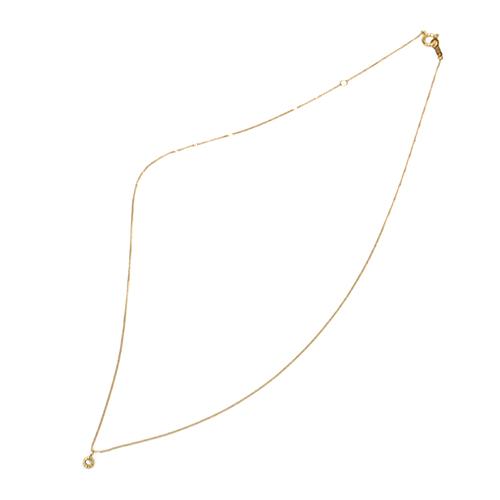 hn-395 ミル&ローズカットダイヤ ネックレス/S 02